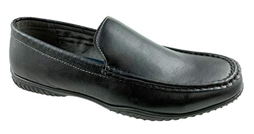 BATA Mens Faux Leather Slip on C...