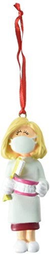 Dental-figur (Ornament Central oc-029-fbl weiblich Blonde Dental Figur)
