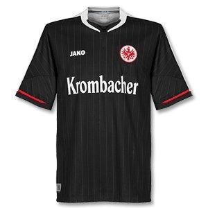 JAKO Eintracht Frankfurt Trikot (Away) 12/13 EF4212 M Schwarz/Weiß