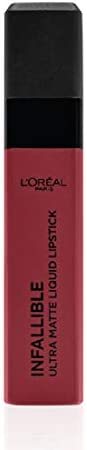 L'Oreal Paris Infallible Pro Matte Liquid Lipstick, 366 Stirred, 6