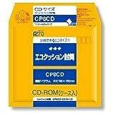 okina Eco sobres acolchados (CD-ROM Case Case) con un solo toque Ride X 10cp8cd (importado de Japón)