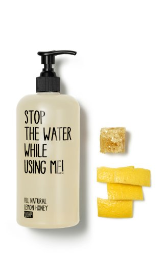 Stop The Water While Using Me All Natural Lemon Honey Soap 500ml