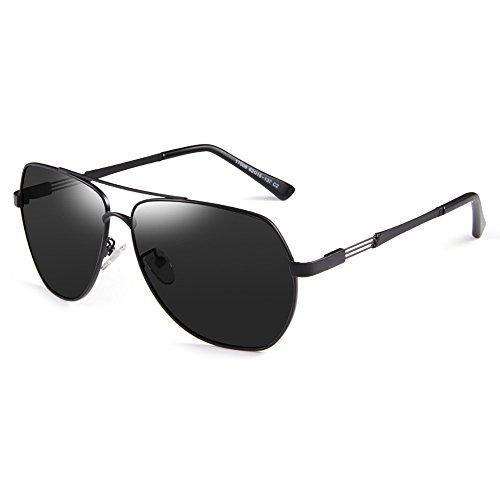Sonnenbrille Big Frame Black Drive Anti Glare Anti-UV polarisierte Licht Sonnenbrille