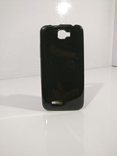 iCandy™ Colorfull Thin Soft TPU Back Cover For Micromax Canvas Mad A94 - Black  available at amazon for Rs.109