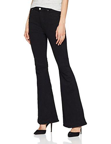 Dr. Denim Damen Bootcut Jeans Macy Schwarz (Black 101) W27/L32