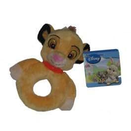 "Nicotoy / Disney - Hochet Simba ""Le roi lion""- 15 cm"