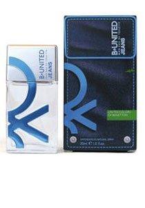 B. United Jeans Man fur HERREN von Benetton - 100 ml Eau de Toilette Spray -