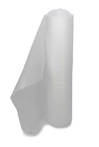 Schaumpolsterfolie Rolle weiß 100 cm x 25 m x 2,0 mm / 20 kg/m³ ** Verpackungseinheit: 4 Rolle **