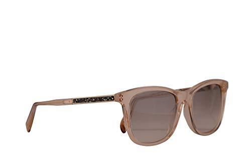 Salvatore ferragamo donne sf888sr occhiali da sole w/grey gradient lens 53 millimetri 749 sf 888sr cristallo peach grande