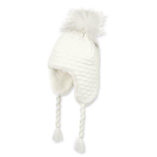 Sterntaler Baby-Mädchen Inka-Mütze, Beige (Ecru 903), 51