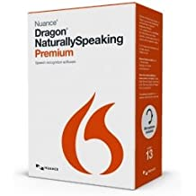 Nuance Dragon NaturallySpeaking 13 Premium - Software de reconocimiento de voz (4000 MB, 2048 MB, 2.2 GHz Intel Dual Core, DUT)