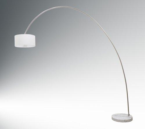 Bogenleuchte Elegant Arc white, Ausladung 220cm, Höhe 220cm, 10455