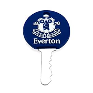 Official Everton FC Key Cap - A Great Gift / Present For Men, Boys, Sons, Husbands, Dads, Boyfriends For Christmas, Birthdays, Fathers Day, Valentines Day, Anniversaries Or Just As A Treat For Any Avid Football Fan
