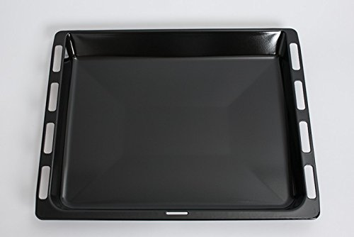 daniplus Graisse Poêle, plaque de cuisson émaillée 46,5x 37,5cm Convient pour Bosch Siemens Four-N °: 675876