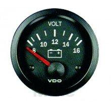 MOTORRAD INSTRUMENTE - 252.66.89 - VOLTMETER VISION 52MM/8-16V -