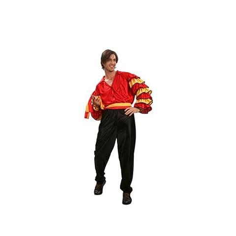 Espagnol Homme Costume Danseur - Déguisement danseur de flamenco