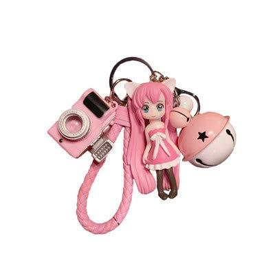 Cartoon Anime Puppe Schlüsselbund Student Tasche Kette Anhänger