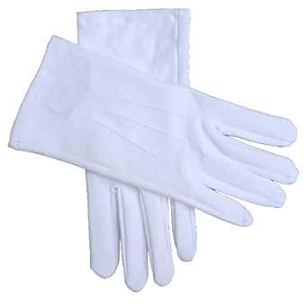 White Cotton Gloves Medium