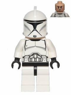 LEGO Star Wars - Minifigur Clone Trooper - neue Variante 2013 im ungeöffneten Original-Tütchen - Spielzeug Wars Lego Clone Star