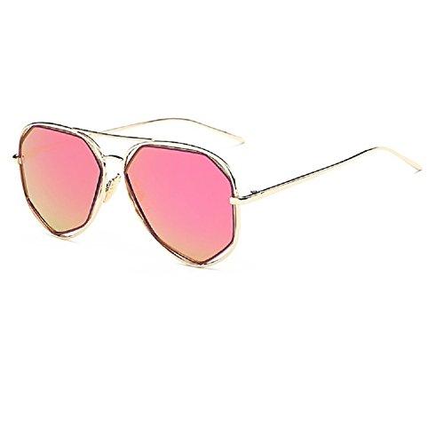 0-c-unisex-polarizzati-occhiali-da-sole-in-metallo-54-mm-viola-gold-framepurple-lens