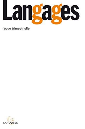 Langages nº 191 (3/2013) La concordance des temps : vers la fin d'une « règle » ?