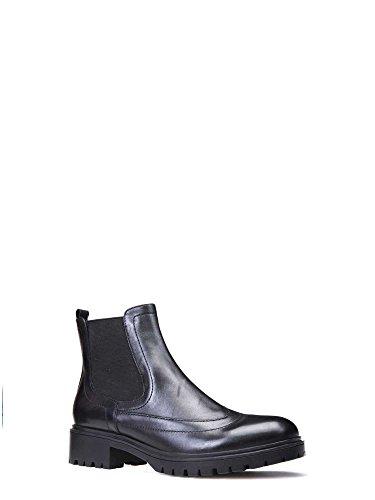 Geox Damen D Peaceful A Chelsea Boots Schwarz