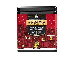 TWININGS Tea - Discovery Collection - Golden Rooibos and Caramel - 100gr Caddy Lose Tee