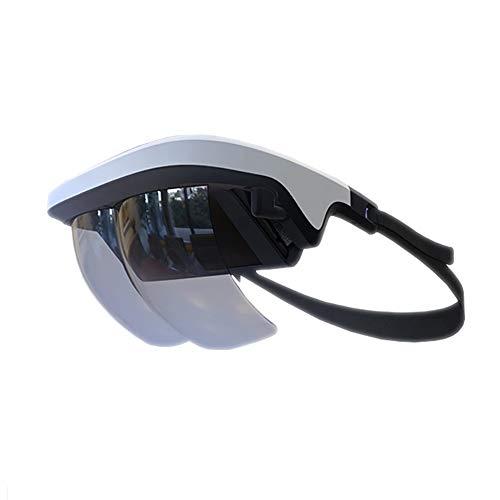 QLPP Virtual Reality Headset, Skibrille, 3D VR-Brille mit ergonomischem Design für iPhone und Android-Smartphone mit 4,5-6,5-Zoll-Bildschirm