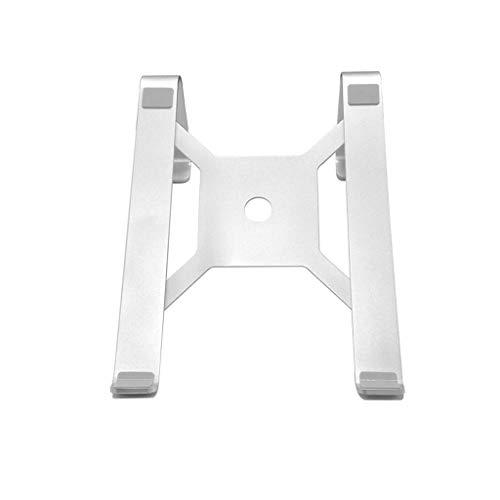 Aluminium-basis-pad (HAMIMI Notebookhalterung Laptophalterung Desktop erhöht Kühler Aluminium Pad hohe Basis einfach 25,5x19x9,5 cm Laptop Stehen)