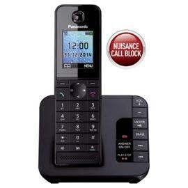 Panasonic single line digital cordless KX-TGH220UEB  available at amazon for Rs.5899