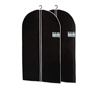 ASIS nettrade Super praktisch Kleidersäcke Kleiderschutzhüllen - 8 Stück - Extra lang (auch für Mäntel) 150 cm lang x 60cm breit, mit langem Reißverschluß