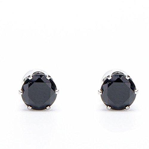 Lottoy® Damen Ohrringe Schmuck Ohrstecker stecker Bio Magnetic Slim Ohr Aufkleber Ohrringe Acupoints Gewichtsverlust tragen Abnehmen (Schwarz)