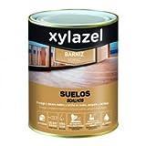 Xylazel Fußbodenlack für Böden Holz satiniert 4L farblos