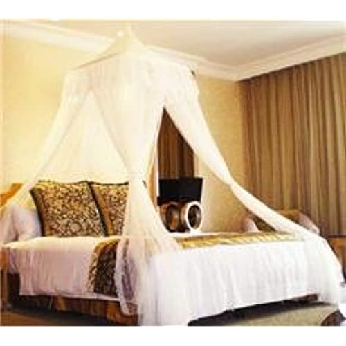 White Square Top Bed Canopy