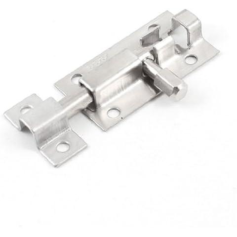 Chiavistello per cancello, in acciaio INOX, lunghezza: 5 cm