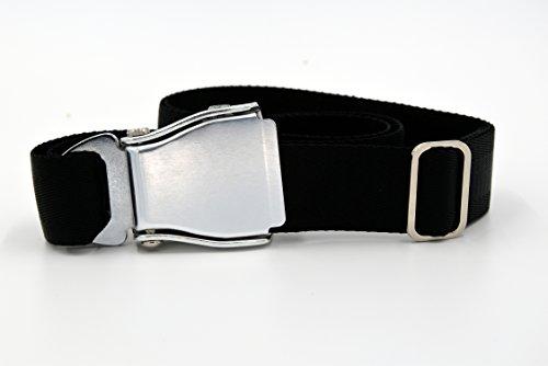 cintura-per-pantaloni-modello-cintura-di-sicurezza-aereo-di-linea-seat-belt-nero