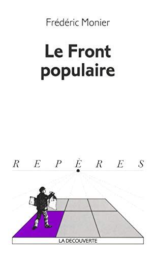 Le Front populaire par Frédéric Monier
