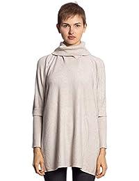 a3d75a99d1d23f Abbino CG010 Ponchos für Damen Frauen - Viele Farben - Damenponchos  Damencapes Pullover Übergang Sommer Herbst Winter Lang Warm…