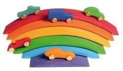 6-Piece Rainbow Bridge Set by Grimm's GMBH