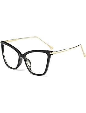 Juleya Cat Eye Sunglasses Mujeres UV400 Vintage Retro Eyeglasses