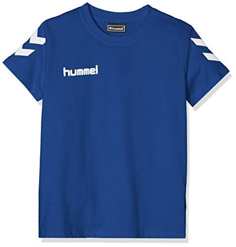 hummel Kinder HMLGO Kids Cotton T-Shirts, True Blau, 152