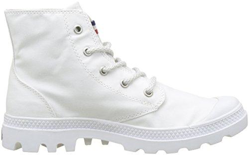 Palladium Pampa Hi Rive Gauche, Sneaker a Collo Alto Donna Bianco (White/french Tape L09)