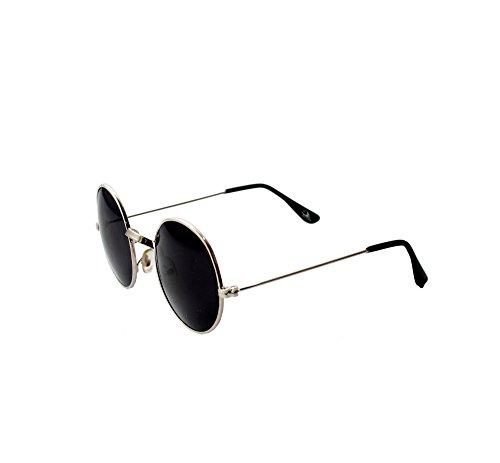 Rst Round Unisex Sunglasses (S-B-002291 2 Black)