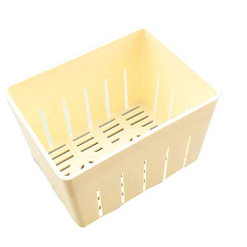 Republe Tofu Press-Maker Muffa DIY Plastica Fatta in casa cagliata di soia con Formaggio Panno da Cucina utensile da Cucina