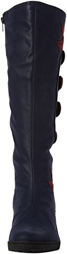 Joe Browns Funky and Fabulous Wedge Boots, Stivali Donna Blue (Blue)
