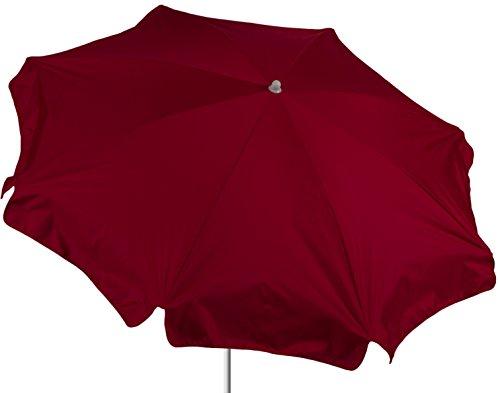 beo Parasol Rond diamètre 180 cm étanche, Rouge