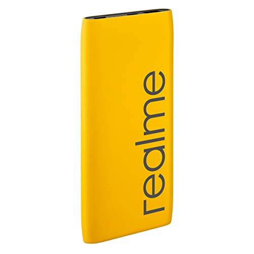 Realme 10000mAH Power Bank (Yellow) Image 4