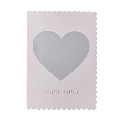 Ginger Ray Scratch zu Reveal Will You Be My Bridesmaid Karten x 5Pack–kratzfest Karten