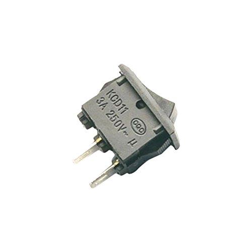 Hrph 20Stück AC 250V 3A 2Pin ON/Off I/O SPST Snap In Mini Boat Rocker Switch - Zwei Rocker Switches