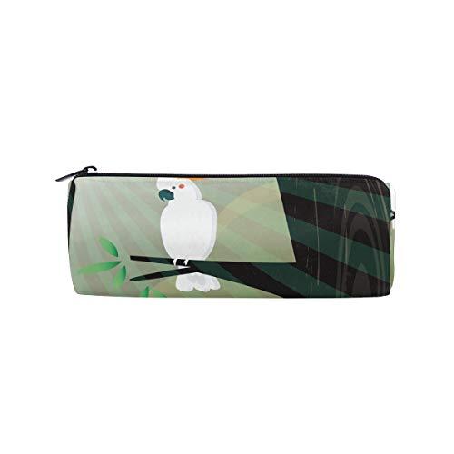 (bonipe Welcome Spring die Dove stehen bei Baum Bleistift Tasche Schule Stationery Pen Box Reißverschluss Kosmetik Make-up-Tasche)